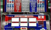 Play 7's and Stripes free slots